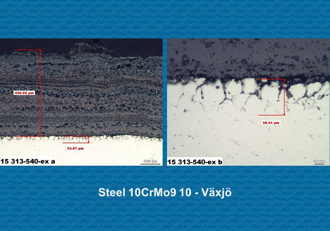 Steel 10CrMo9 10 - Växjö
