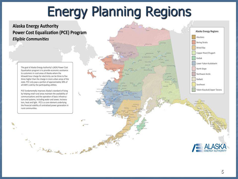 5 Energy Planning Regions