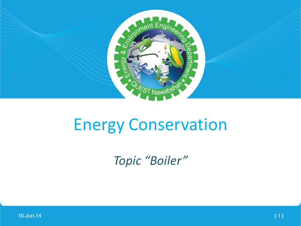 Topic Boiler Energy Conservation 10-Jun-14[ 1 ]