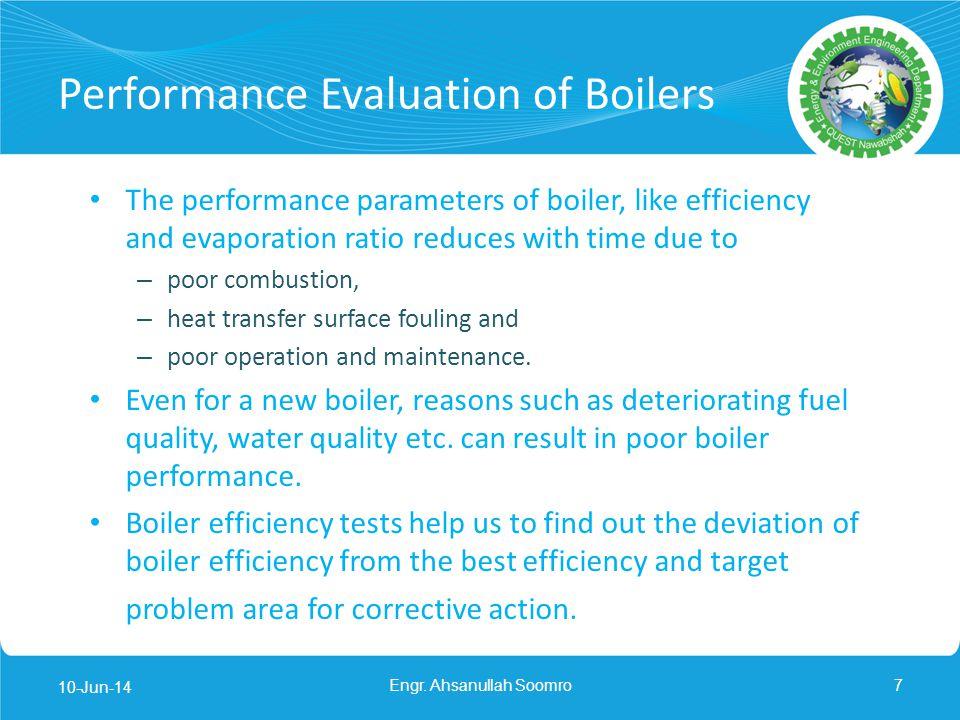 Indirect Method iii. Percentage heat loss due to evaporation of moisture present in fuel