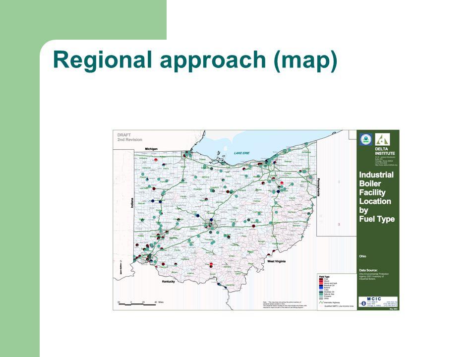 Regional approach (map)
