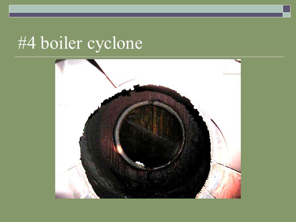 #4 boiler cyclone