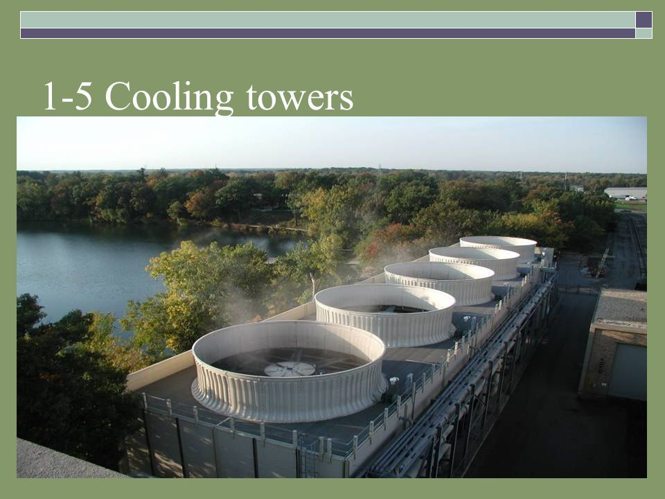 1-5 Cooling towers