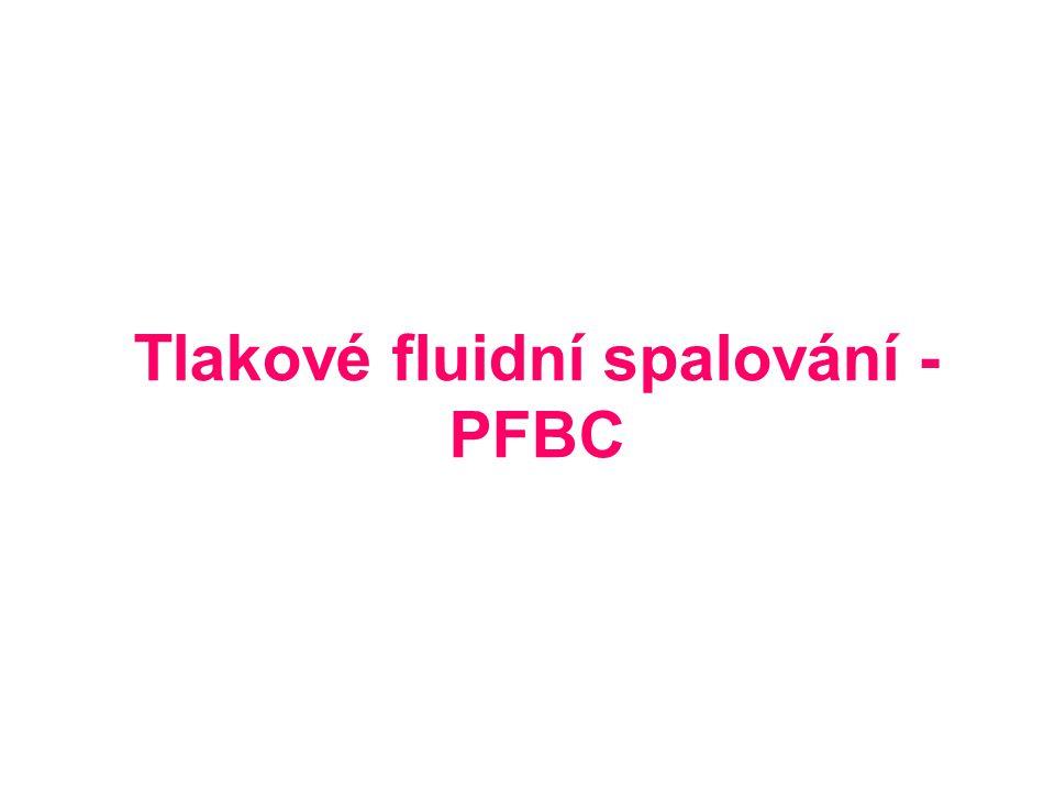 Tlakové fluidní spalování - PFBC
