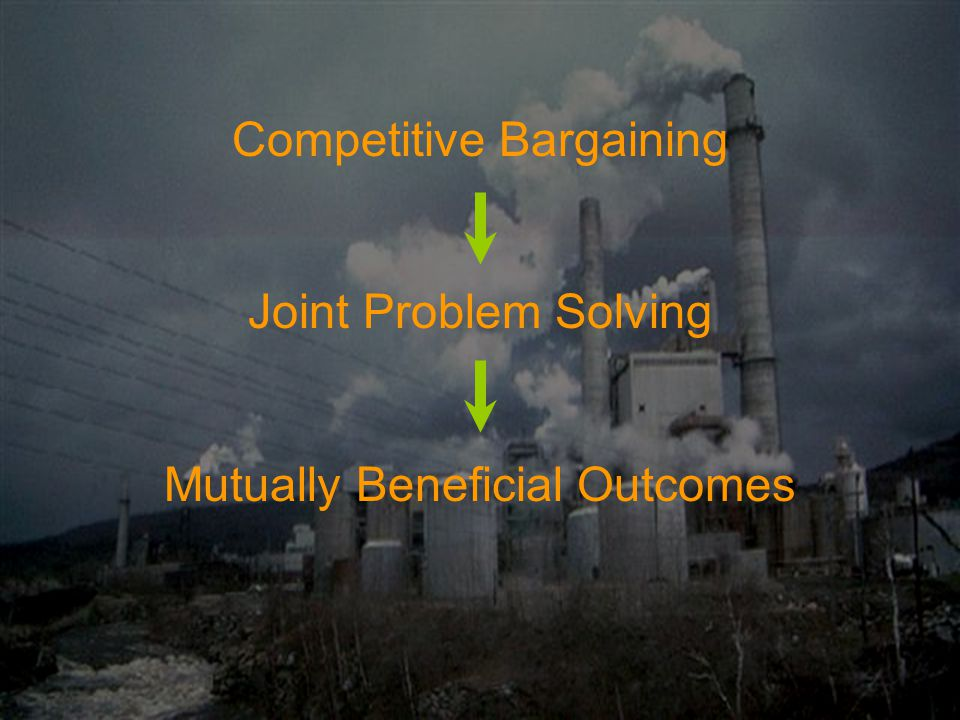 Competitive Bargaining Joint Problem Solving Mutually Beneficial Outcomes