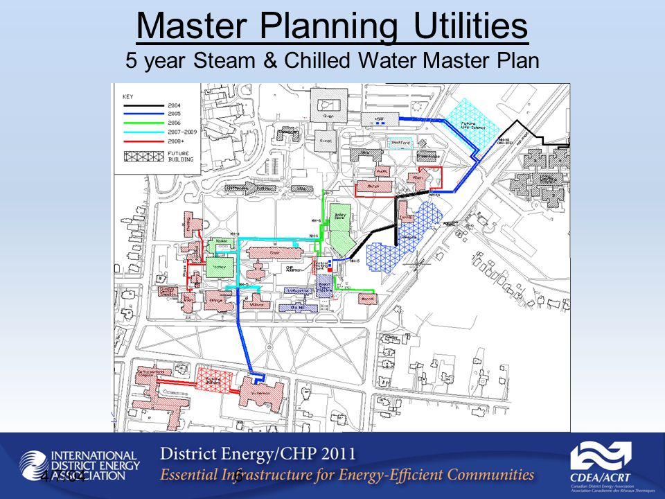 4/7/046 Master Planning Utilities 5 year Steam & Chilled Water Master Plan