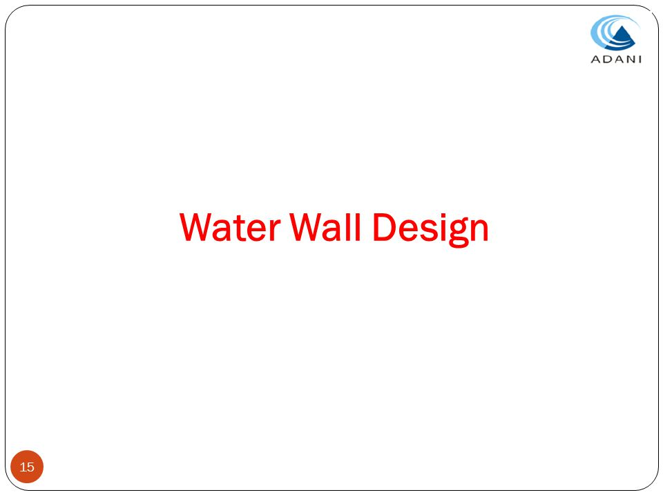 15 Water Wall Design