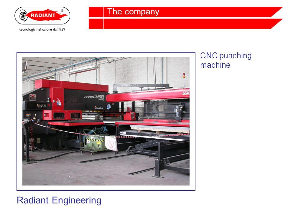 CNC punching machine Radiant Engineering