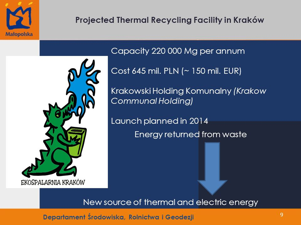 In Poland heat production is based on coal - for residents it is the cheapest source of heat.