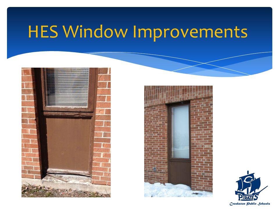 HES Window Improvements