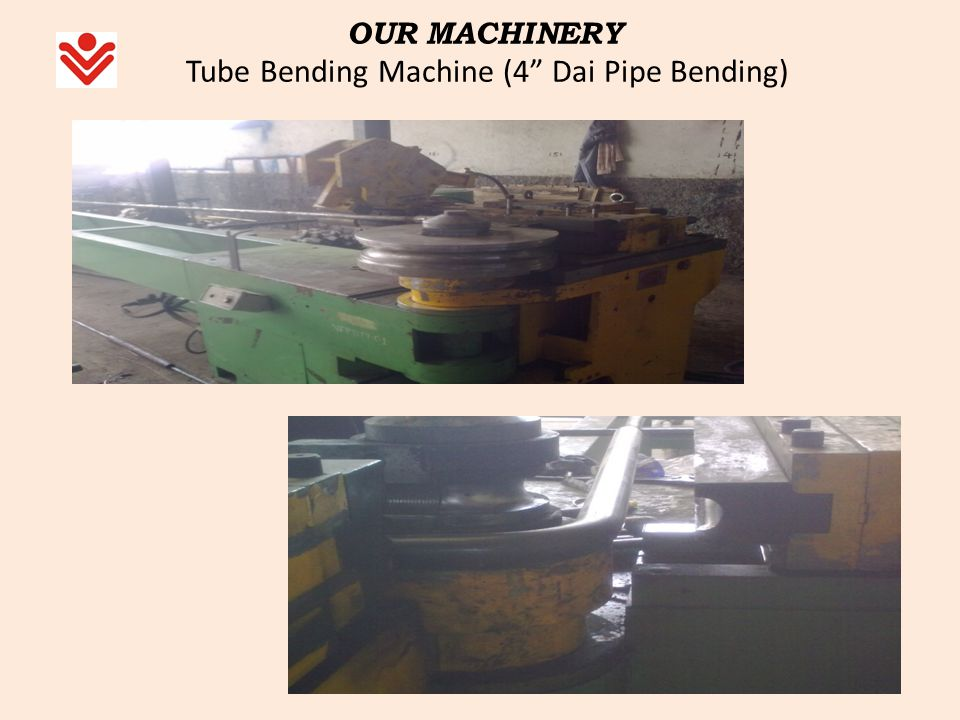 OUR MACHINERY Tube Bending Machine (4 Dai Pipe Bending)
