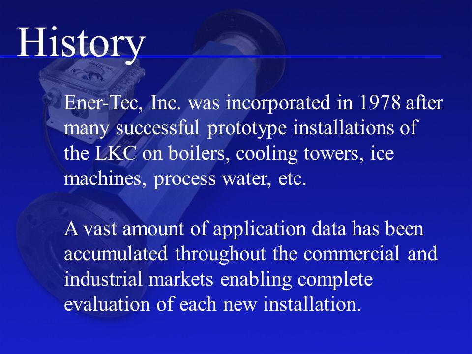 History Ener-Tec, Inc.
