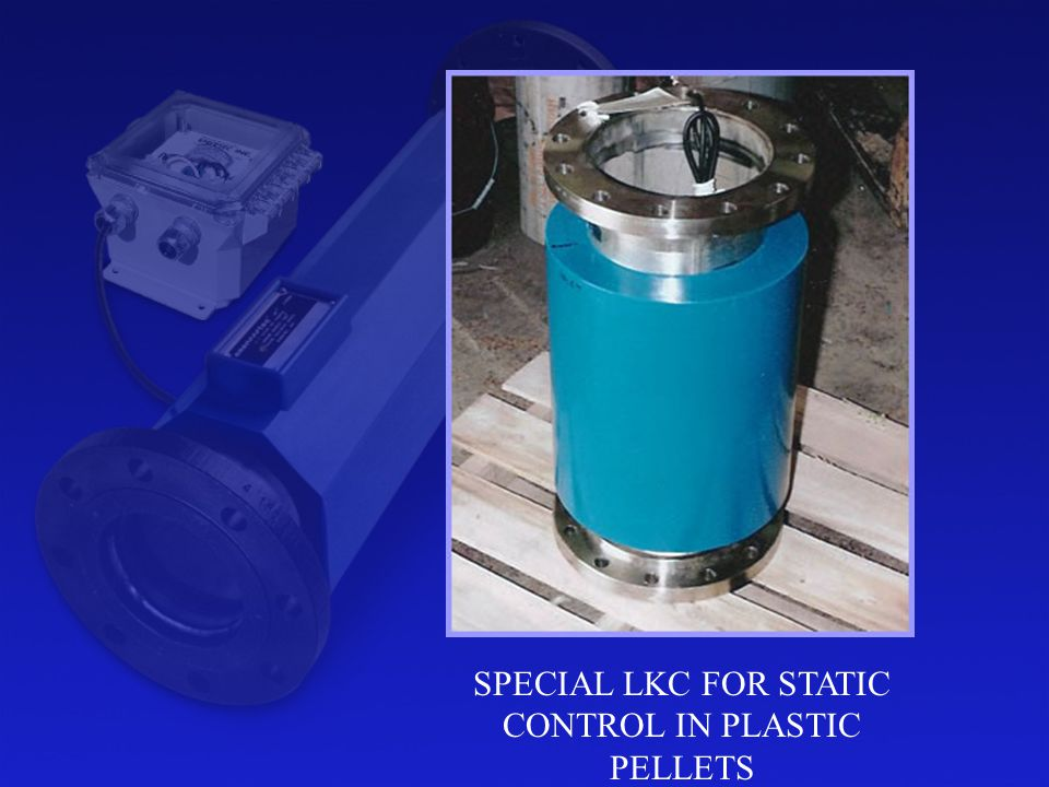 SPECIAL LKC FOR STATIC CONTROL IN PLASTIC PELLETS