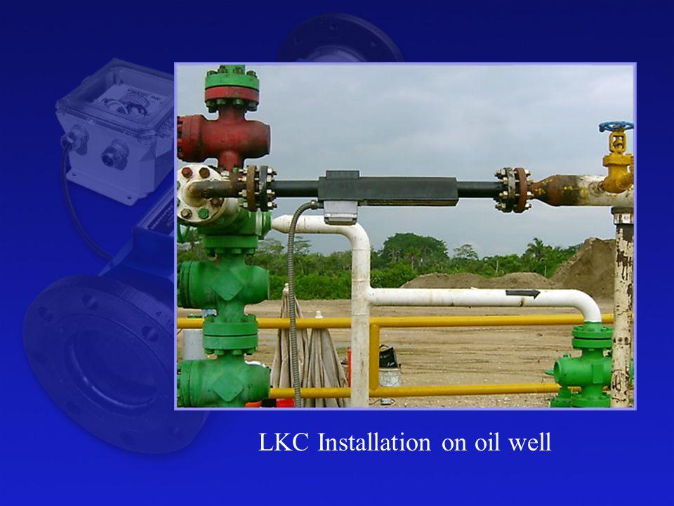 LKC Installation on oil well