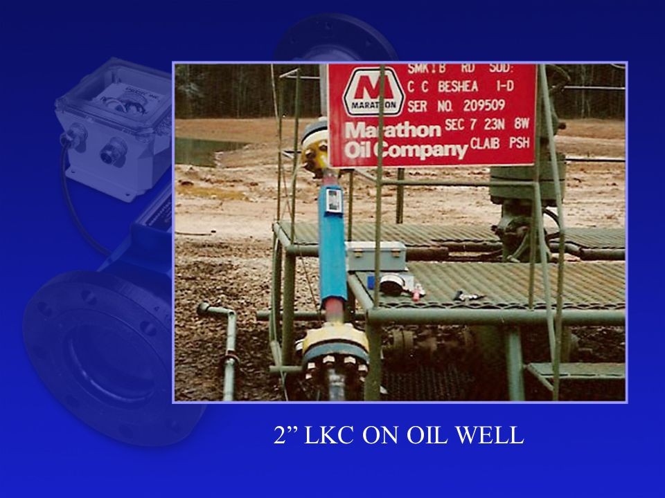 2 LKC ON OIL WELL