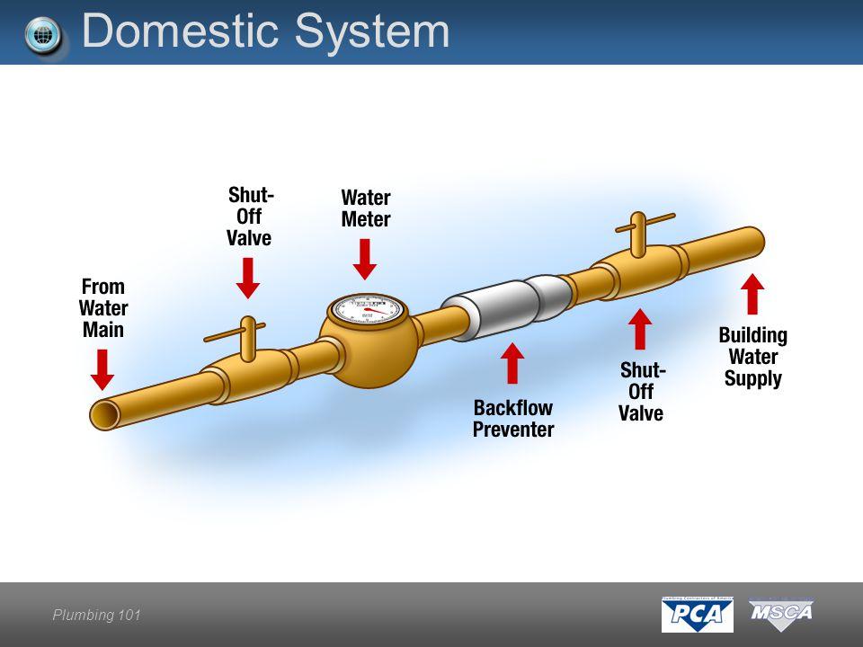 Plumbing 101 Domestic System