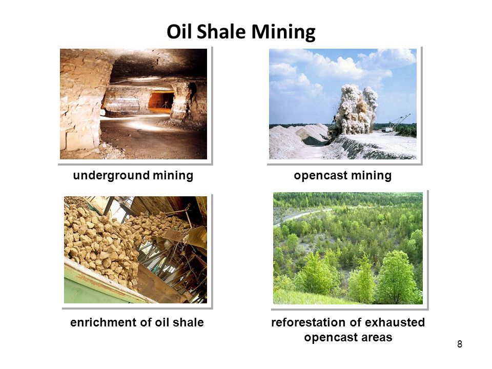 9 What can we produce from 1 ton of Estonian oil shale.
