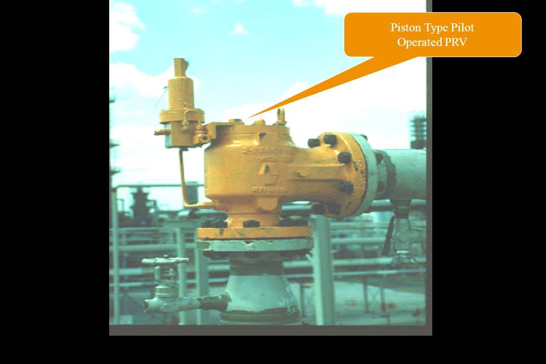 Piston Type Pilot Operated PRV