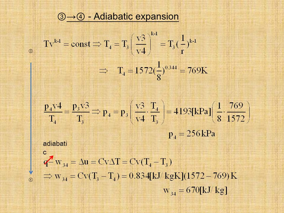 - Adiabatic expansion adiabati c
