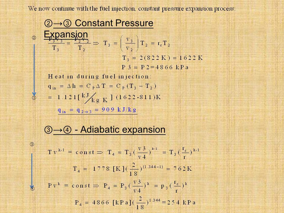 - Constant Volume Exhaust