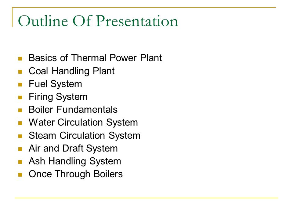 Basics Of Thermal Power Plant A thermal power station is a power plant in which the prime mover is steam driven.