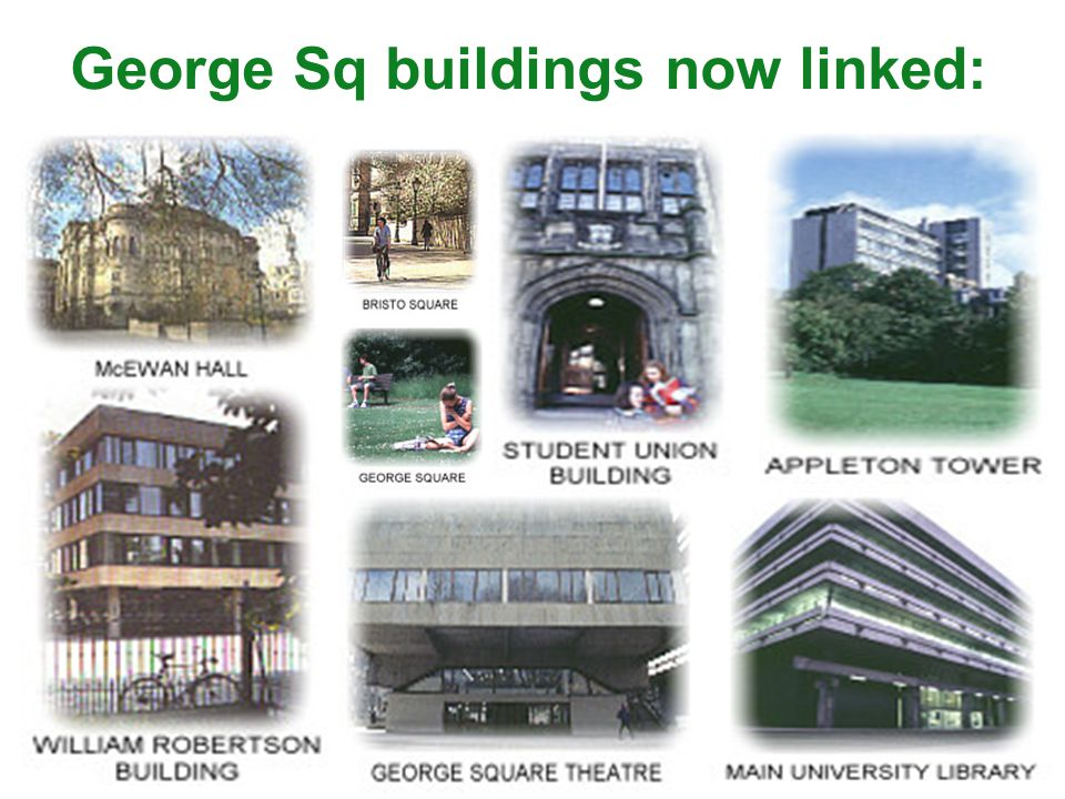 George Sq buildings now linked: