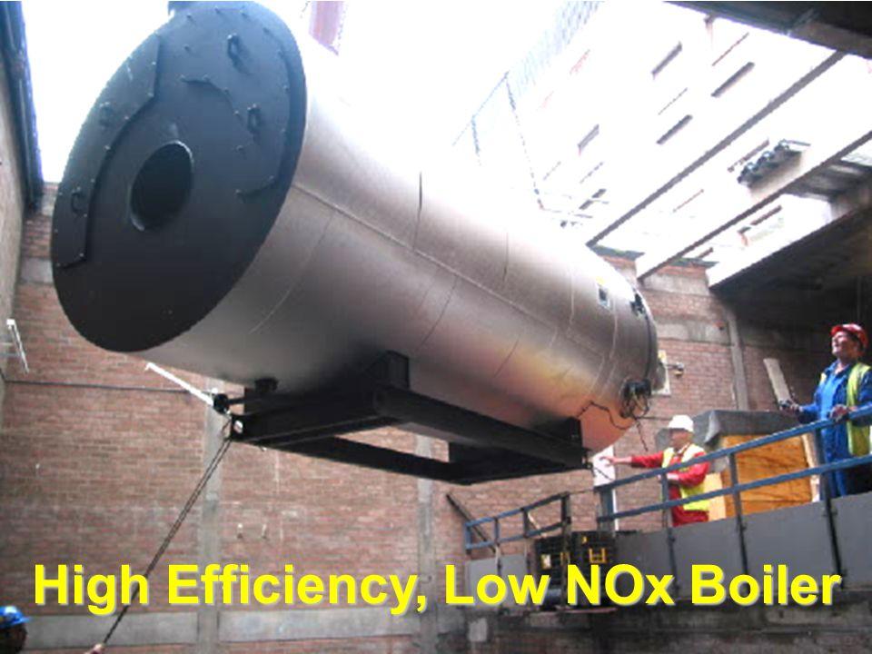 High Efficiency, Low NOx Boiler