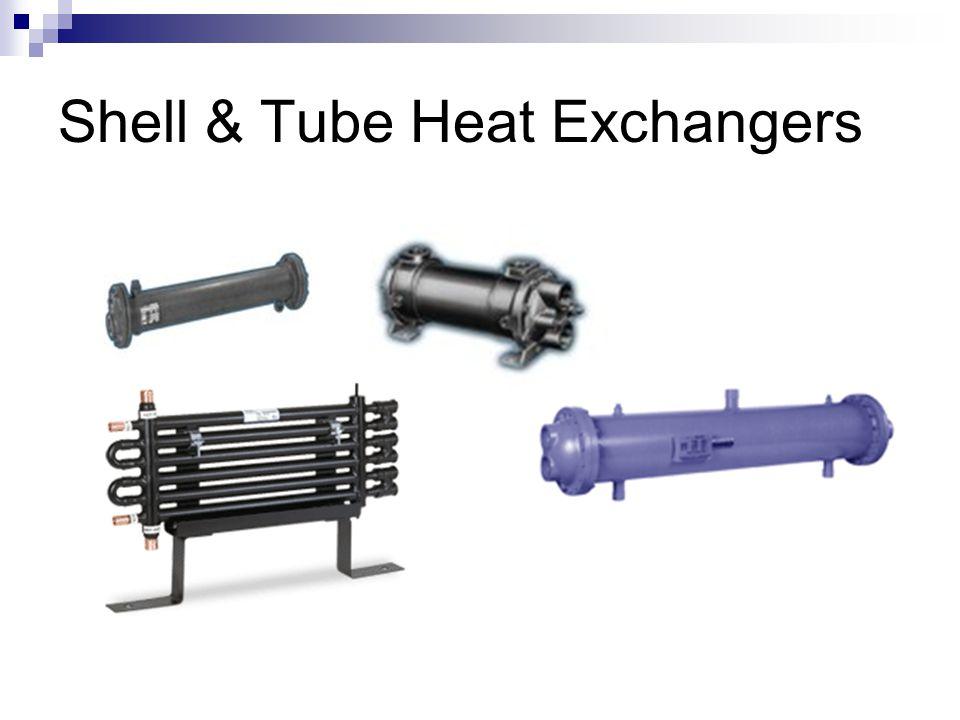 Shell & Tube Heat Exchangers