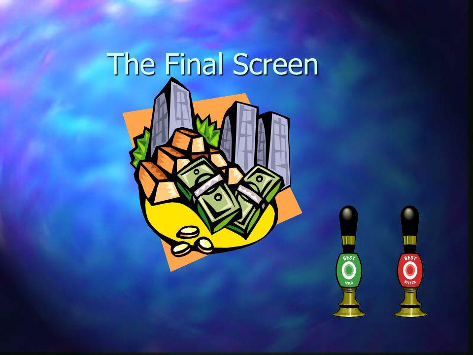 The Final Screen