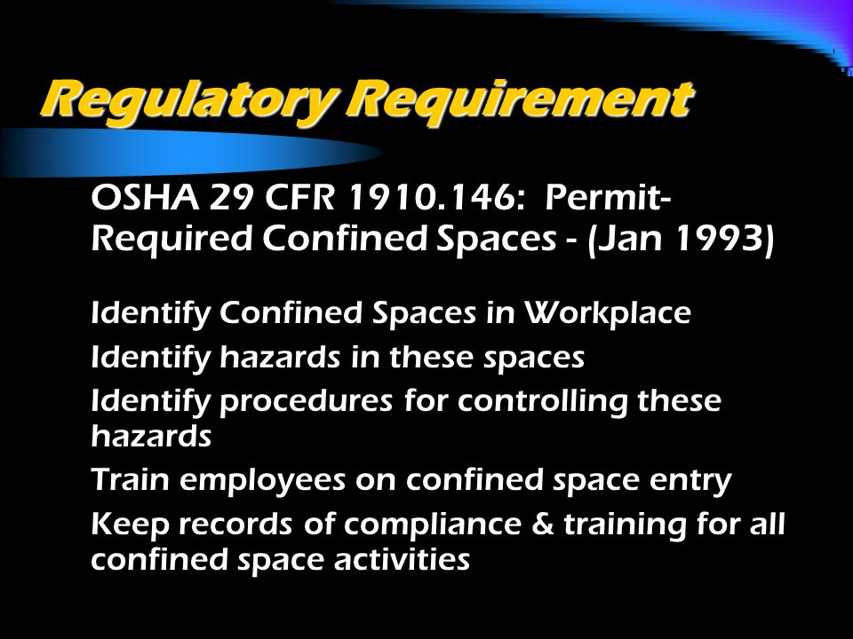 What is a Confined Space.