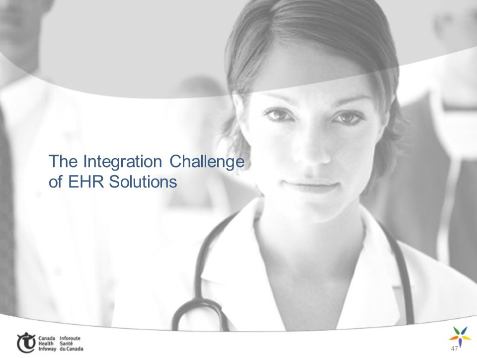 47 The Integration Challenge of EHR Solutions