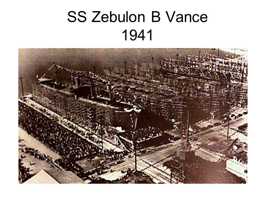 SS Zebulon B Vance 1941