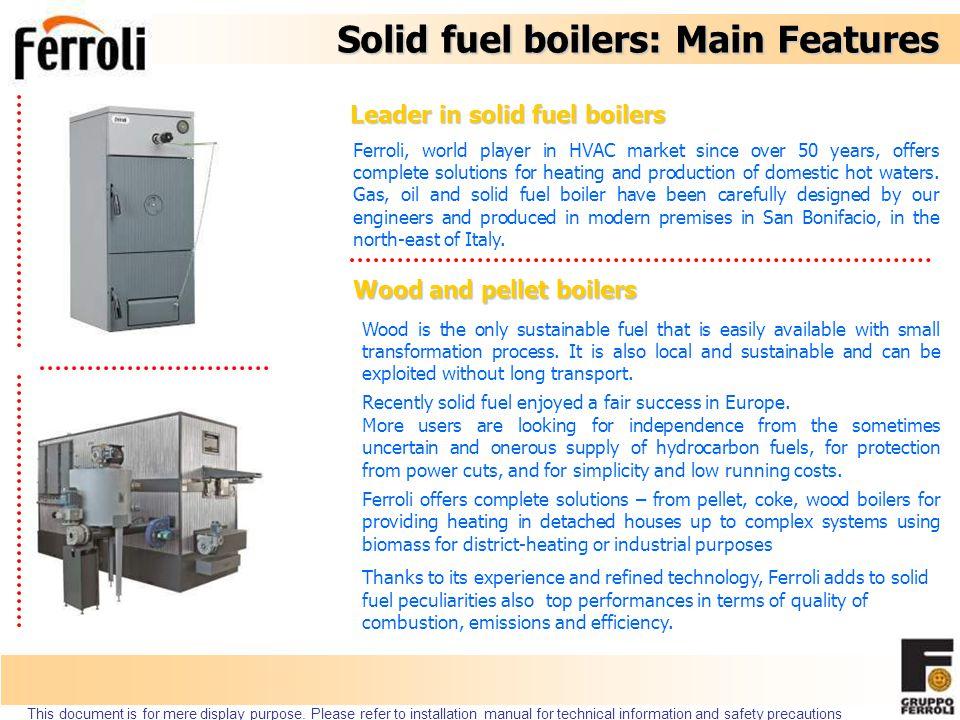 Pellet burner SUN P7 Code 0U2F6PXA SUN P12 Code 0U2F8PXA Совместимость: GF N range + SFL 3-4 Совместимость: SFL 5-6-7 Max мощность 34,1 kW Max мощность 55,0 kW This document is for mere display purpose.