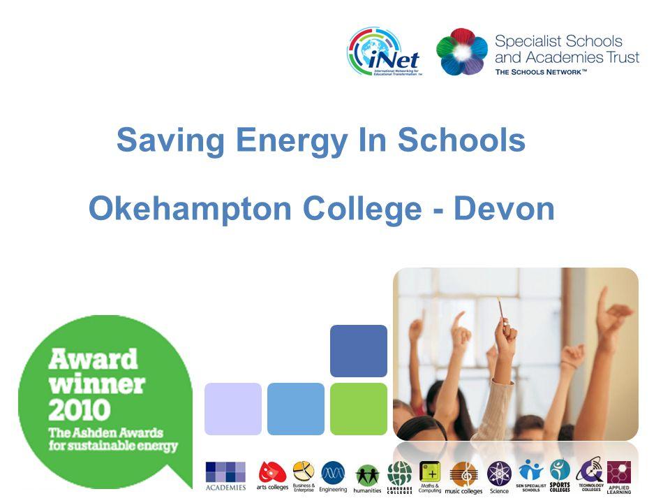 Saving Energy In Schools Okehampton College - Devon