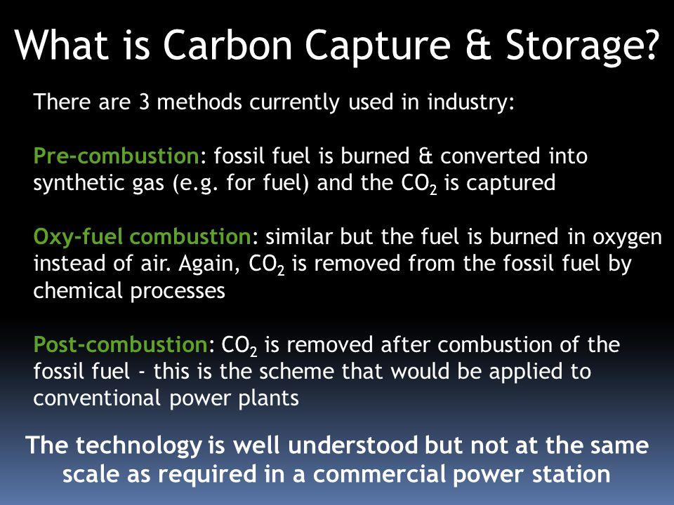 What is Carbon Capture & Storage.