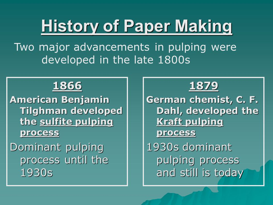 The Modern Paper Making Process Paper Machine [Chesterton, 2004]