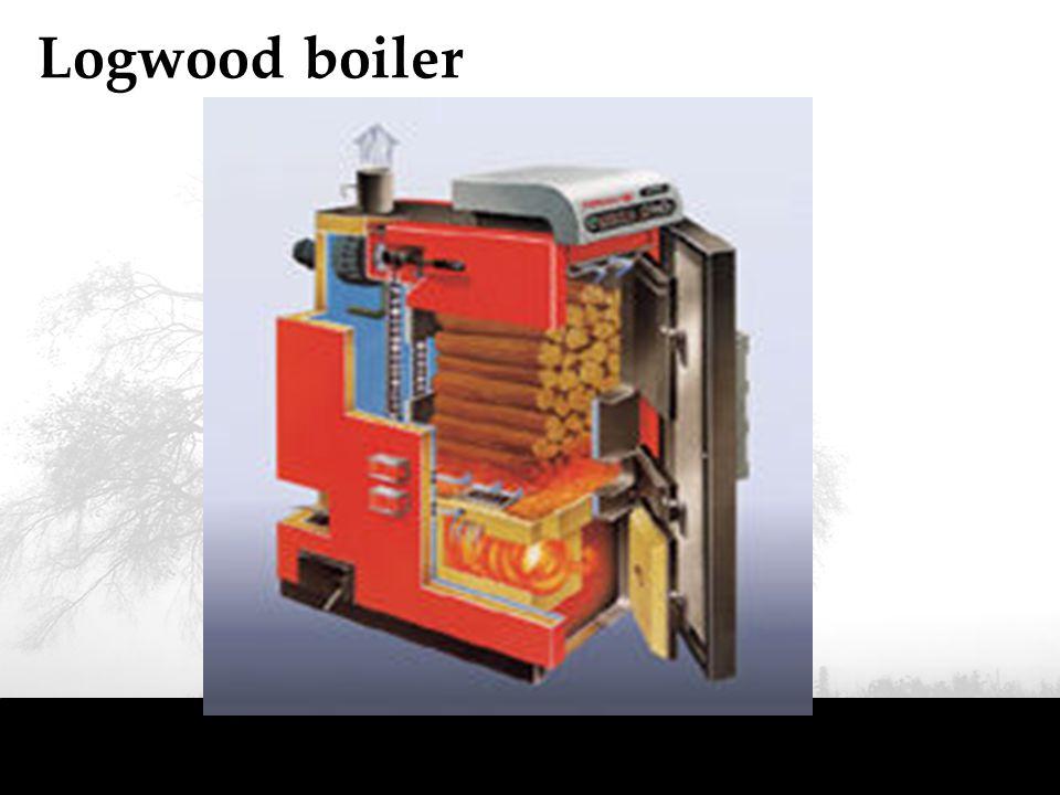 Logwood boiler