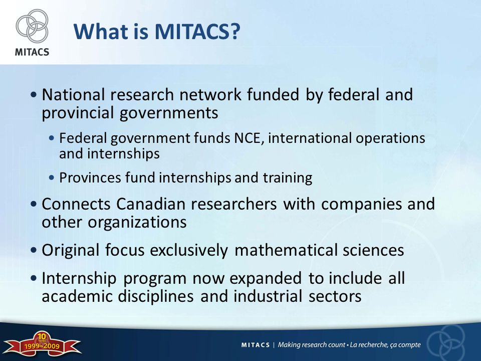 What is MITACS.