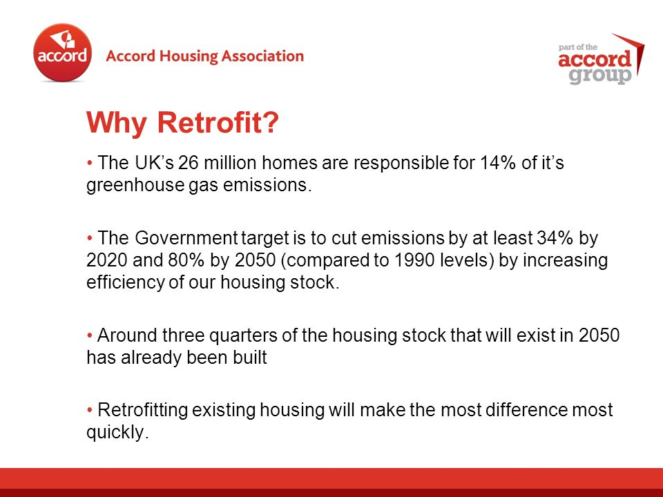 Why Retrofit.Reduce Energy = Reduce Costs.