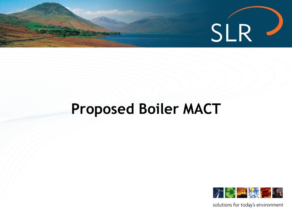 Proposed Boiler MACT