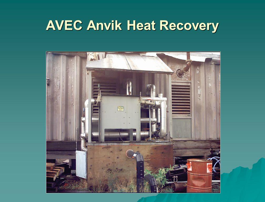 AVEC Anvik Heat Recovery