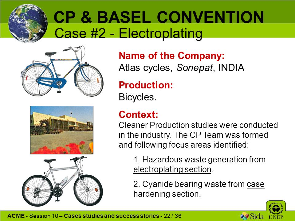 Name of the Company: Atlas cycles, Sonepat, INDIA Production: Bicycles.