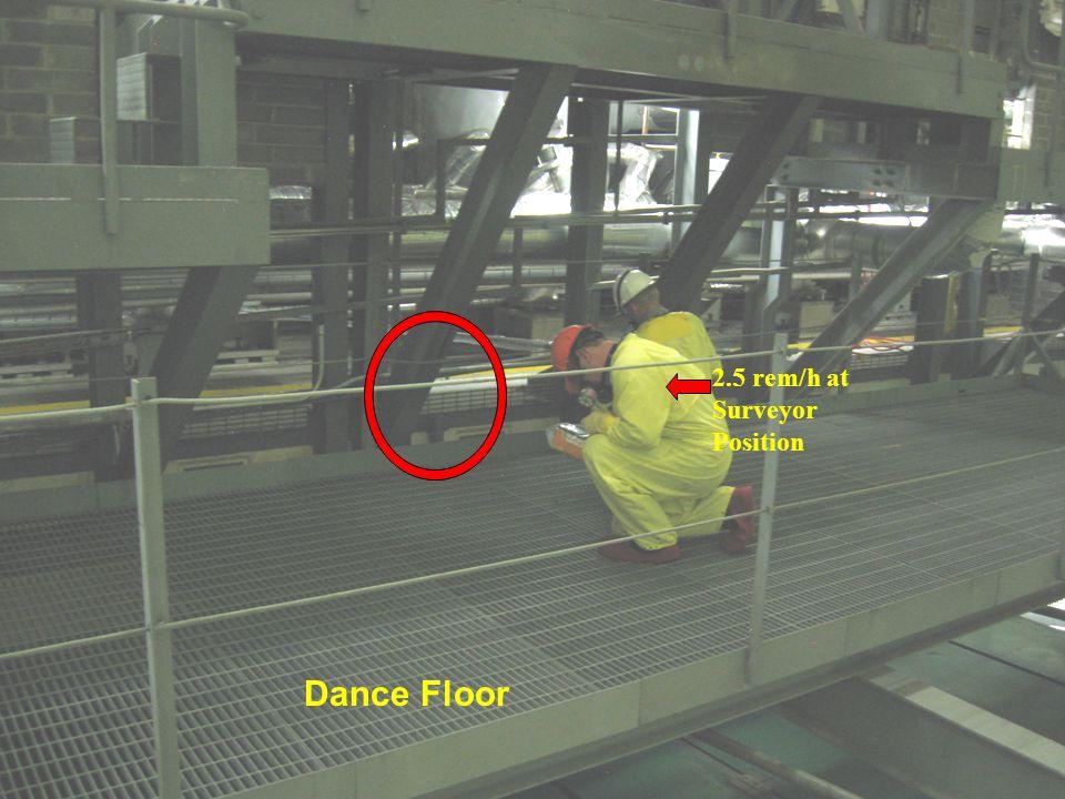 CATWALK DANCE FLOOR TRIM VALVE PLATFORM PERIMETER WALK WAY