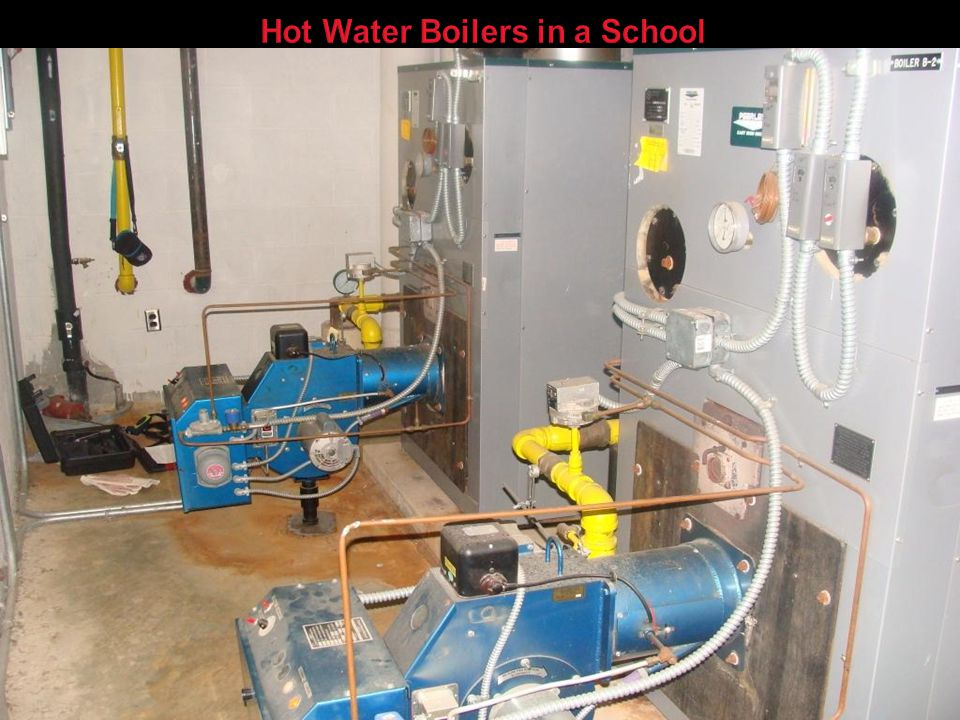 Hot Water Boilers in a School