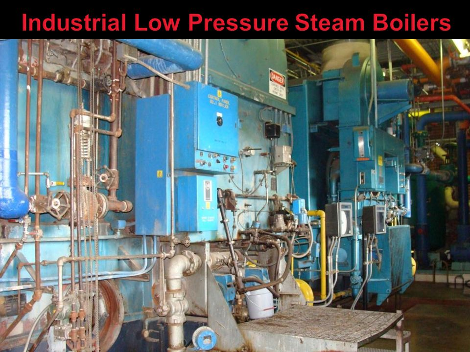 Industrial Low Pressure Steam Boilers