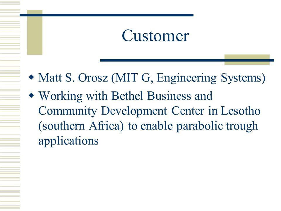 Customer Matt S.