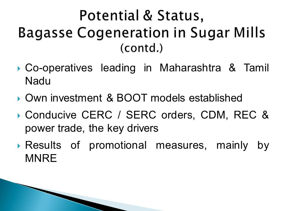 Experience (contd.) Program partner & lead program partner of MNRE, Govt.