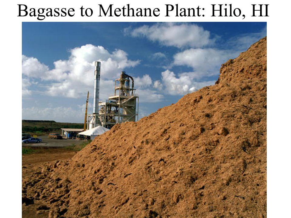 Bagasse to Methane Plant: Hilo, HI