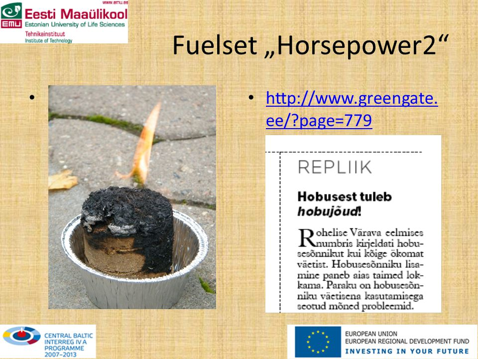 Fuelset Horsepower2 http://www.greengate. ee/ page=779 http://www.greengate. ee/ page=779