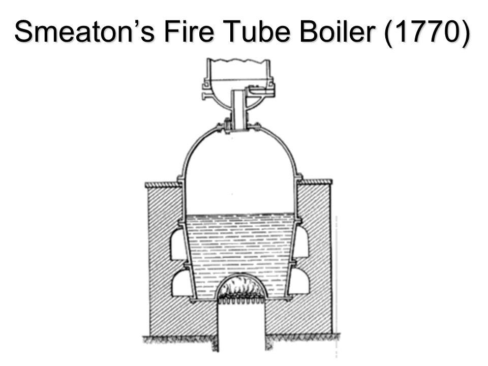 Smeatons Fire Tube Boiler (1770)